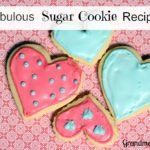 Fabulous Sugar Cookies
