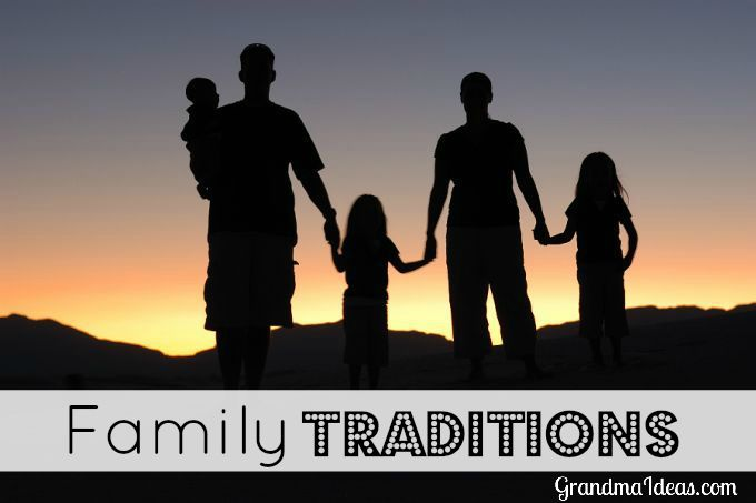 Establish traditions to strengthen your family.