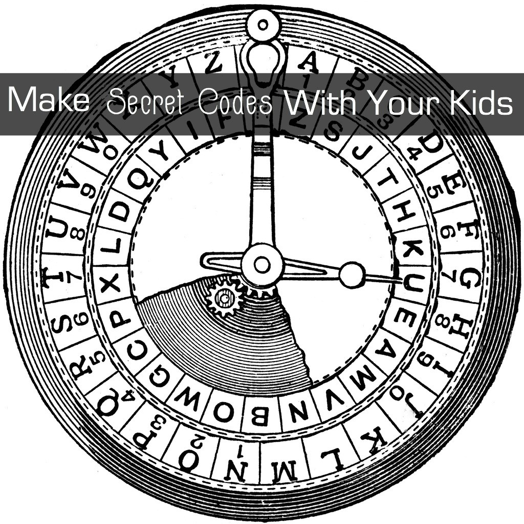 Make secret codes with your kids.   GrandmaIdeas.com
