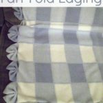 Fan Edging on a Baby Blanket