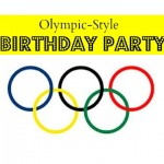 Olympic Birthday Party for Grandchildren