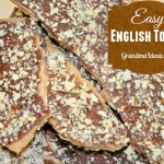 Easy to Make Toffee