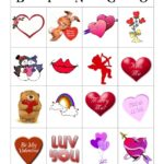 Valentine Bingo with Grandchildren