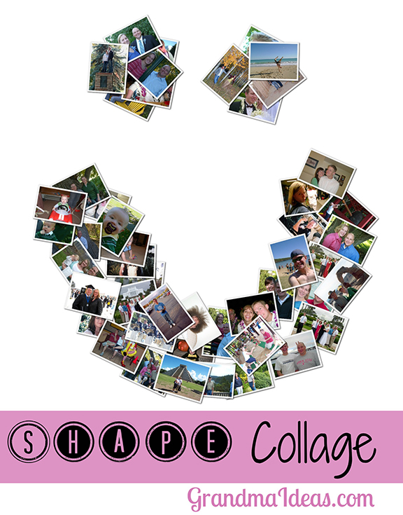 Make a shape collage with tweens and teens. Great fun!