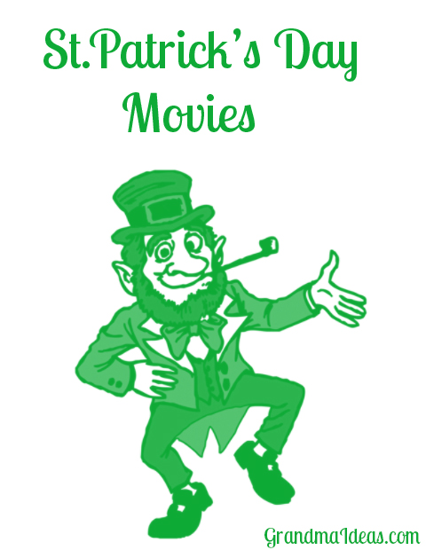 Here is a list of fun movies to watch with the kids for St. Patrick's Day.