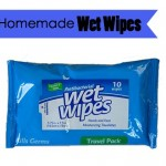 Homemade Wet Wipes
