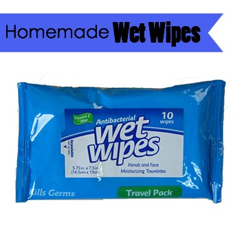 Make these homemade wet wipes to help your daughters-in-law save money. GrandmaIdeas.com