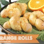 Cooking Orange Rolls with Grandchildren