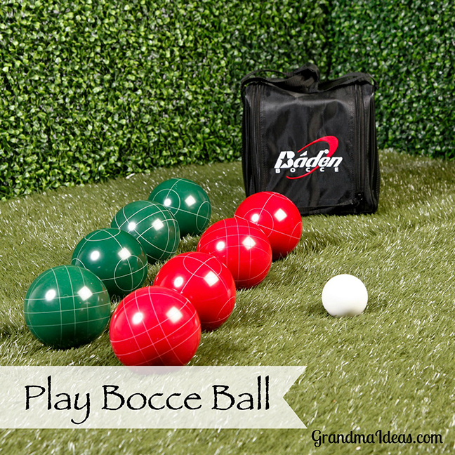 Bocce Ball Lawn Bowling : Bocce ball is a fun family game that tween and teenaged kids will