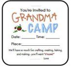Grandma Camp Ideas