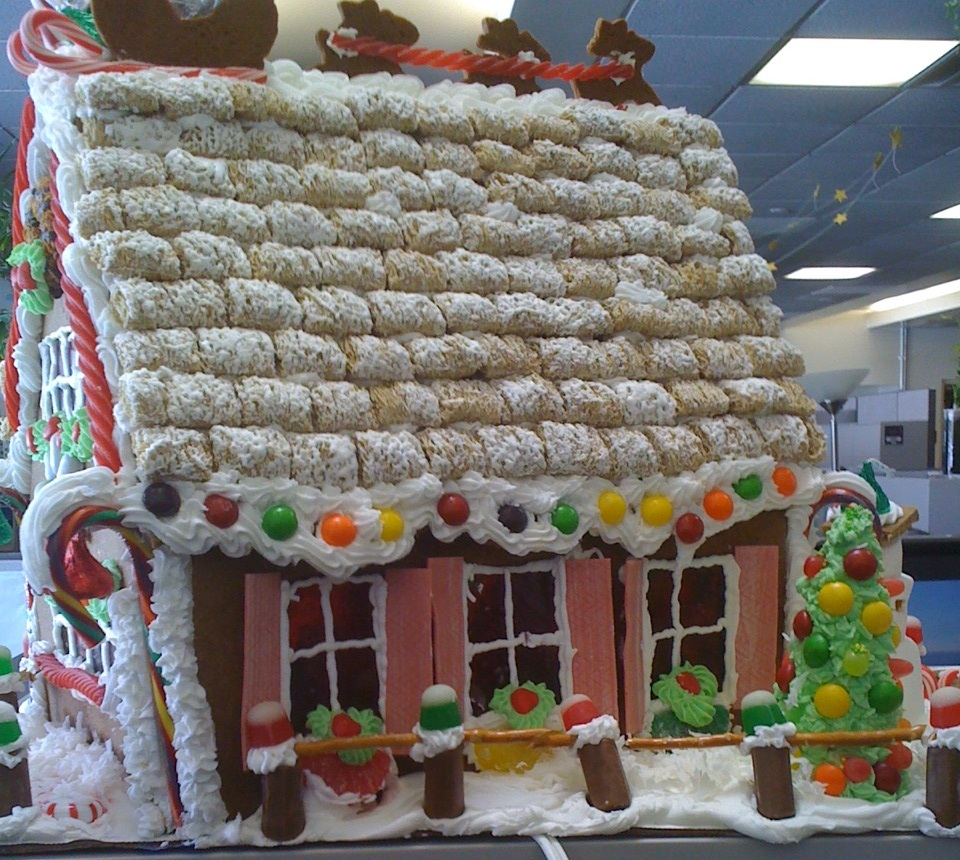Make A Gingerbread House With Your Grandchildren Grandma