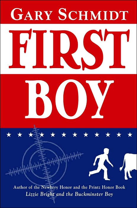Boys will really enjoy reading First Boy by Gary Schmidt. Put this on your kids' must read list!
