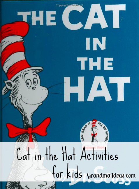Cat in the Hat activities for kids GrandmaIdeas.com