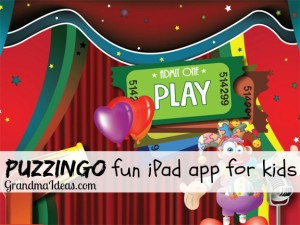 Puzzingo is a fun iPad app for kids.