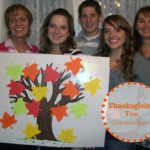 Make a Thanksgiving Tree with Grandchildren