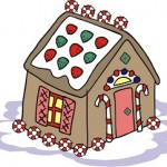 Easy Gingerbread House to Make with Grandchildren