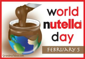 Celebrate World Nutella Day on February 5. Here are 8 of yummy recipes and lots of ideas on how to use Nutella.
