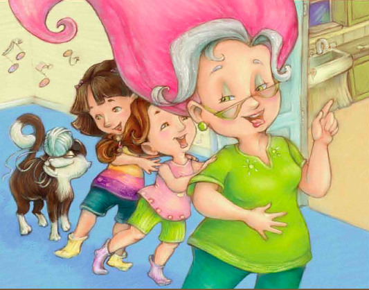 Silly Frilly Grandma Tillie by Laurie A. Jacobs is a fun children's book that will delight kids!