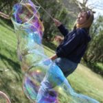 Make Gigantic Bubbles with this Bubble Wand!