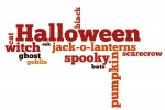 Here are 3 free Halloween wordle printables.