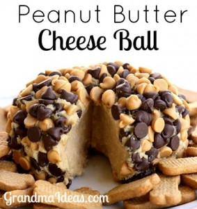 Make this yummy peanut butter cheese ball. Super easy, super good!