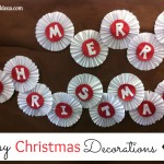 Easy Christmas Decorations to Make with Grandchildren