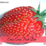 Easy Easy  Fruit Dip