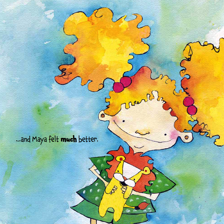 Maya Was Grumpy is a beautiful picture book about a girl who is grumpy and how her grandmother makes her happy.