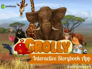 Grolly is a beautifully illustrated intereactive storybook iPad app for children.