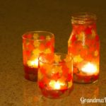 Stained Glass Votive to Make with Grandchildren