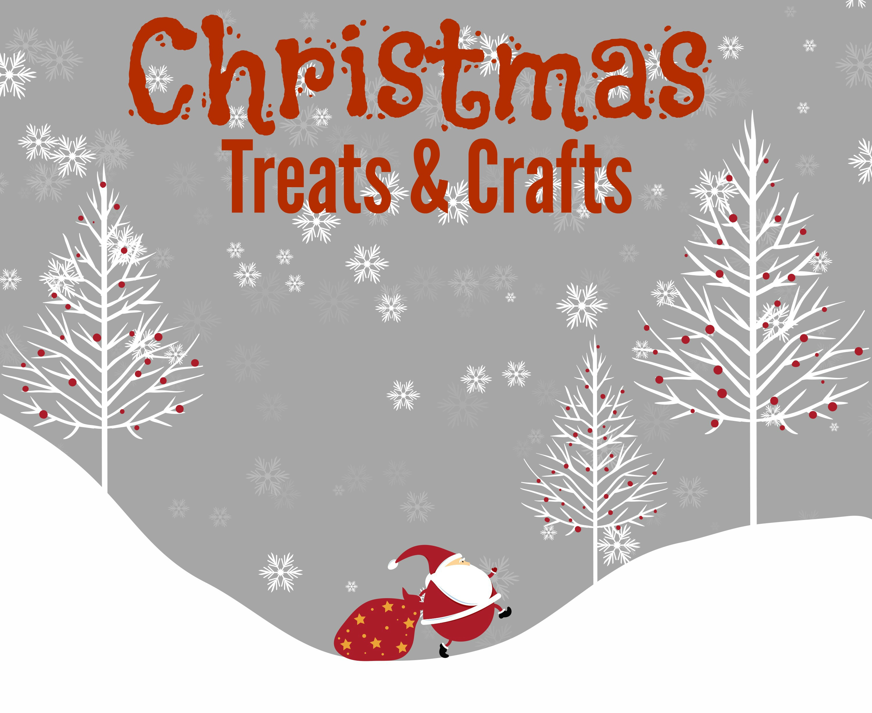 Here are some quick and easy Christmas treats and crafts.