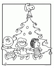 A Charlie Brown Christmas Coloring Activity Grandma Ideas