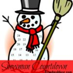 Frosty the Snowman Countdown
