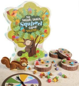 The Sneaky Snacky Squirrel is a fun game for young kids.