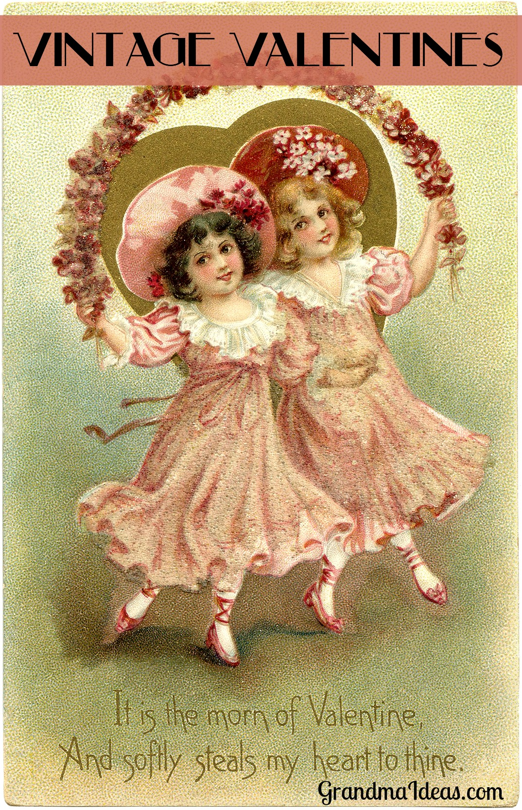 Vintage Valentines Day Cards  Grandma Ideas