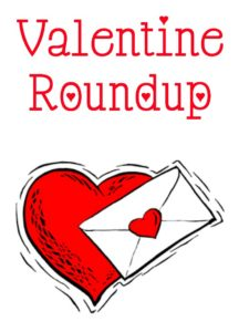 Here is a roundup of craft ideas for Valentine's Day.