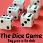 Dice Game for Grandchildren