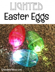 Try something a little different this Easter. Have an Easter Egg hunt at night. Kids love finding these lighted Easter Eggs.