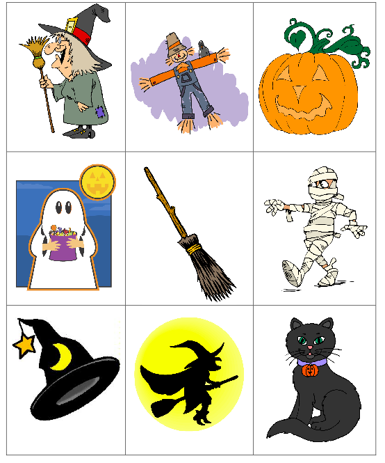 get your free printable for a halloween bingo for little kids