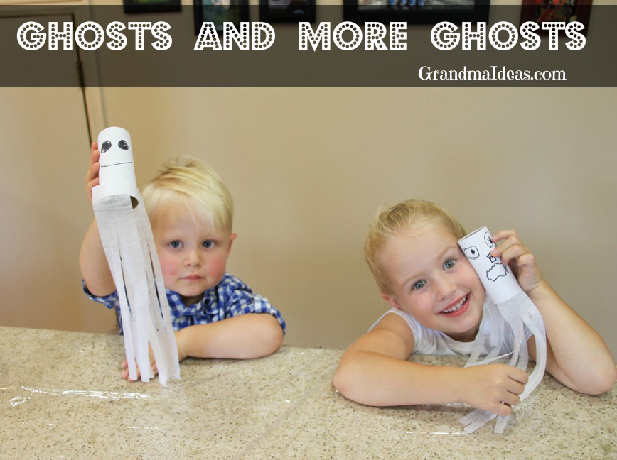more ghosts on Grandma Ideas