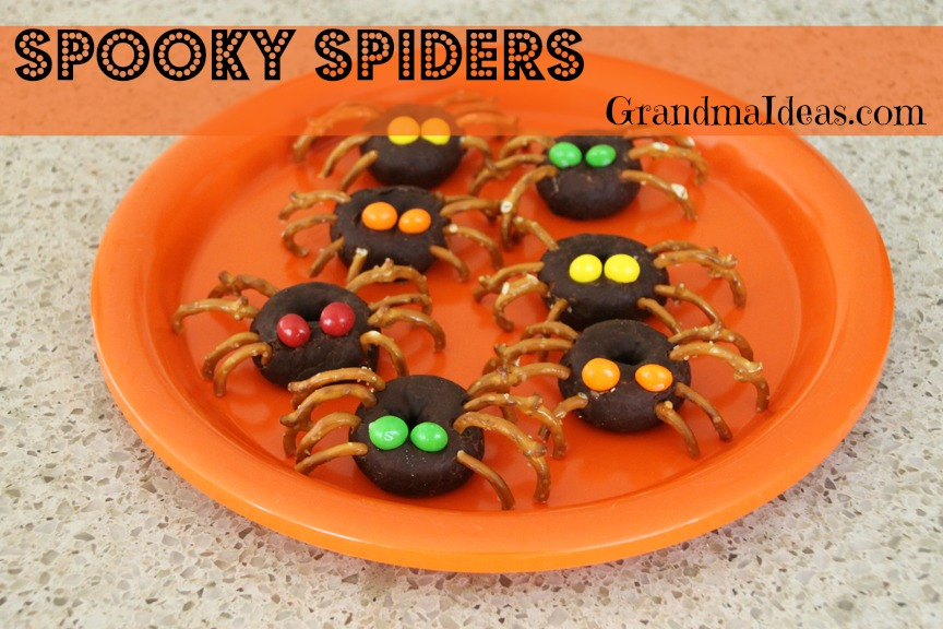 spooky spider treats on Grandma ideas