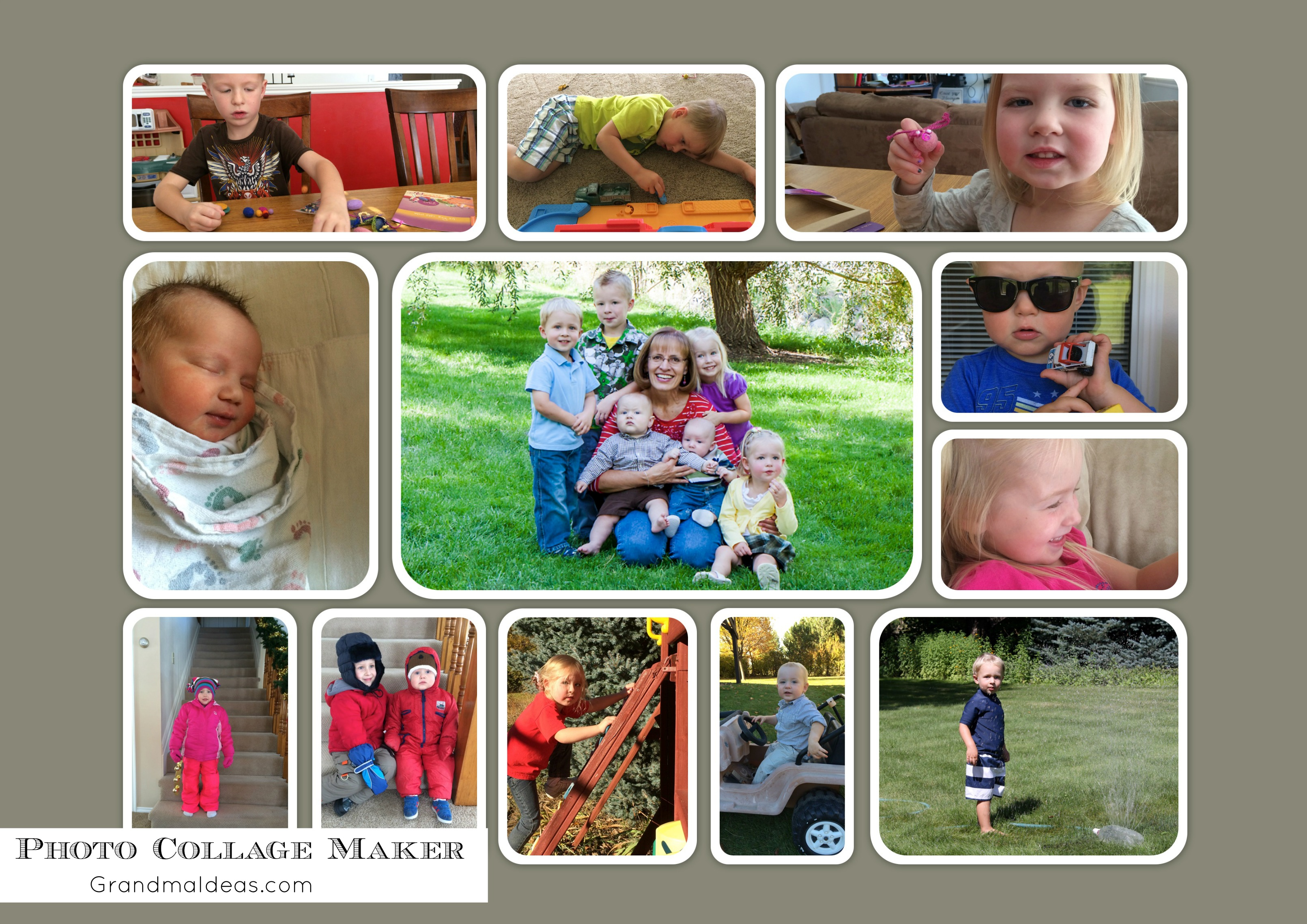 Picture Collage Maker A Great Software Grandma Ideas