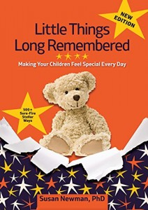 This is book review for Little Things Long Remembered. It has great ideas of how doing small and simple things can create loving and lasting memories for kids and grandkids.