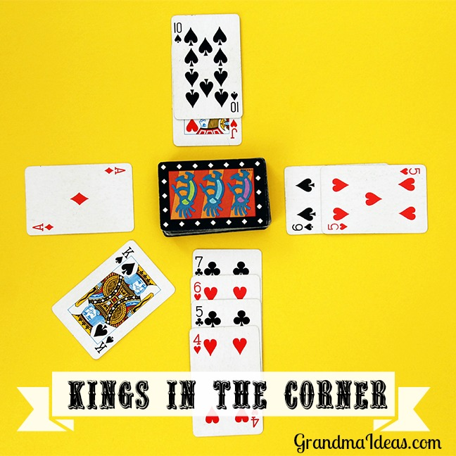 4 kings in the corner card game