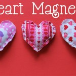 Easy To Make Valentine Magnets