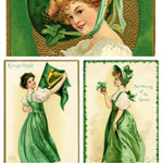 St. Patrick's Day Vintage Cards