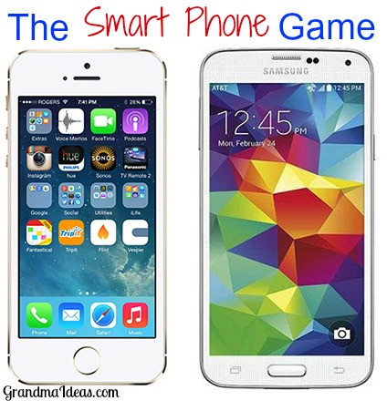 image regarding What's in Your Cell Phone Game Free Printable named The Wise Mobile phone Sport - Grandma Options