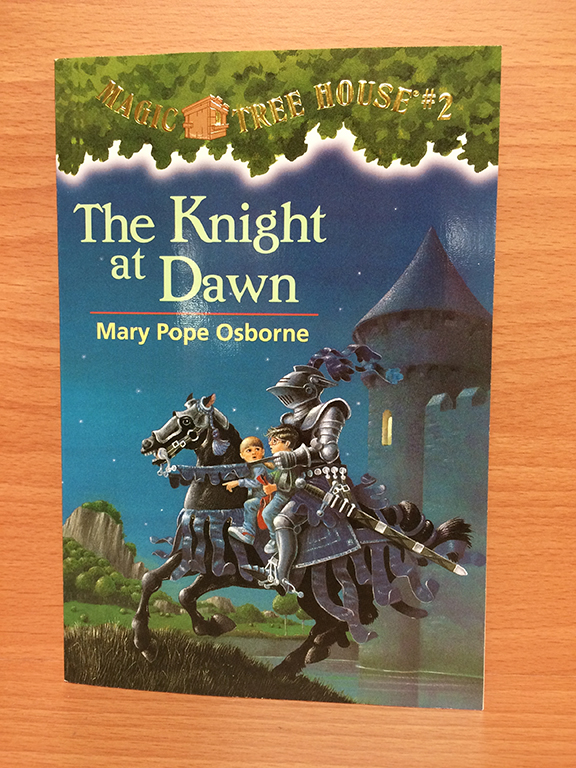 The Knight at Dawn is a book that elementary-aged kids love!