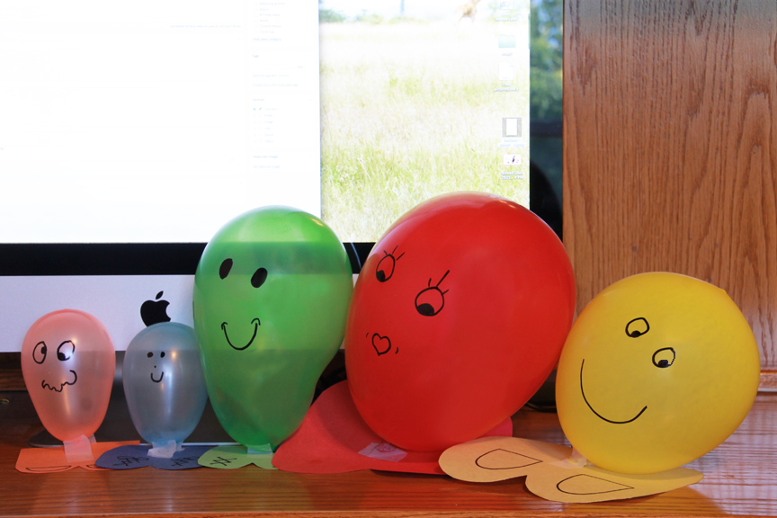 Kids can make balloon people in a matter of minutes and have hours of fun playing with them.
