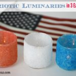 Make a Set of Patriotic Luminaries in 3 Easy Steps